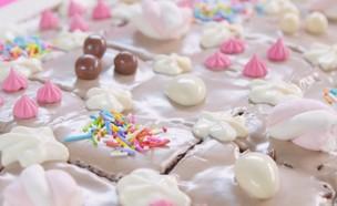 עוגת יום הולדת (צילום: נופר בוגנים, ערוץ 24 החדש)