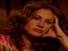 הראיון הראשון של ג'וליה רוברטס לגיא פינס (צילום: ערב טוב עם גיא פינס, קשת 12)