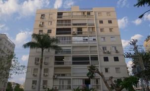 בית משפחת רבין בשכונת נווה אביבים בתל אביב (צילום: החדשות 12)