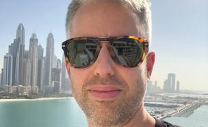 דרור גלוברמן בדובאי (צילום: דרור גלוברמן)