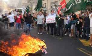 מחאת השולמנים (צילום: טל קירשנבאום)