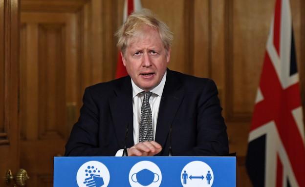 ראש הממשלה הבריטי בוריס ג'ונסון (צילום: רויטרס)