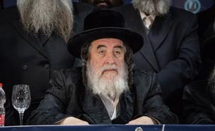 """האדמו""""ר מויז'ניץ ישראל הגר (צילום: אהרון קרון, פלאש 90)"""