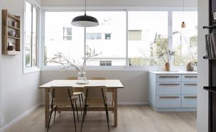 דירה בתל אביב, עיצוב עופרי דרור (צילום: הגר דופלט)