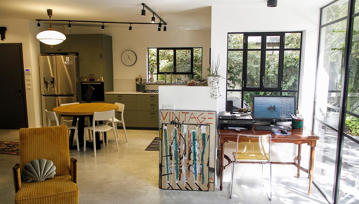 בית במרכז, עיצוב שלומית סלוין