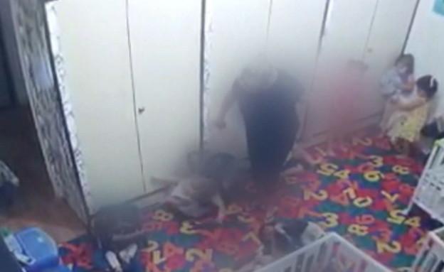 התעללות קשה בפעוטות בגן ילדים ברמת גן