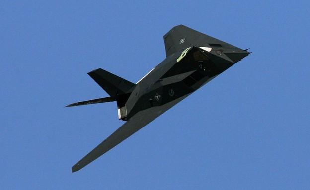 המטוס באוויר (צילום: Ethan Miller/Getty Images)