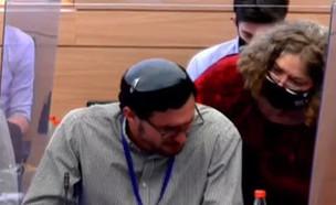 דיון בטיפולי המרה בכנסת (צילום: ערוץ הכנסת)