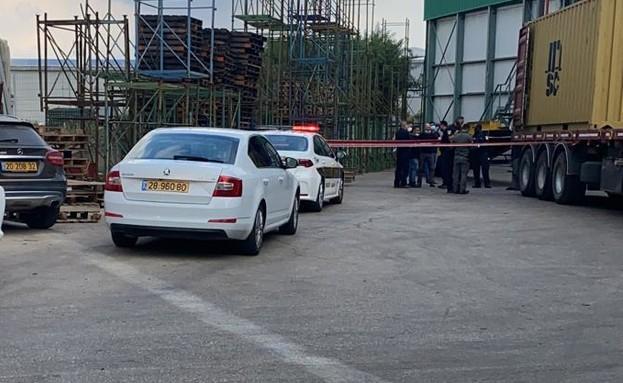 הברחת הסמים שנתפסה בנמל אשדוד (צילום: דוברות משטרת ישראל)