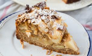 עוגת תפוחים וקינמון (צילום: קרן אגם, אוכל טוב)