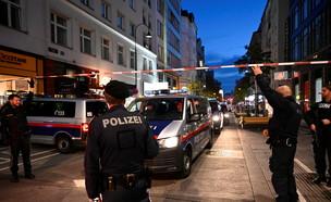 הפיגוע בווינה (צילום: רויטרס)