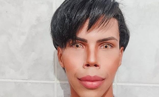 פליפה אדם, בובת קן האנושית (צילום: מתוך האינסטגרם של פליפה אדם)