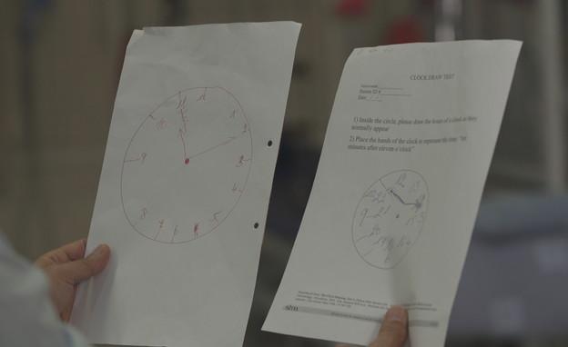 השעון הלא תקין שציירה דניאלה