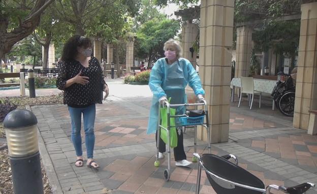קשישים בזמן הקורונה