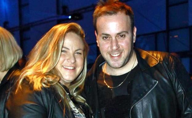 ניקי גולדשטיין ואשתו (צילום: אמיר מאירי)