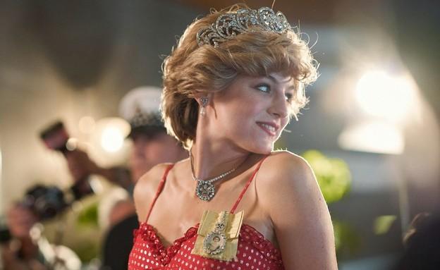 """אמה קורין, מתוך """"הכתר 4"""" (צילום: יח""""צ באדיבות Netflix)"""