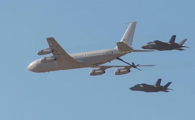 המטוס באוויר (צילום: ארכיון, אתר חיל האוויר)