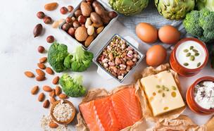 חלבונים (צילום: Antonina Vlasova, shutterstock)