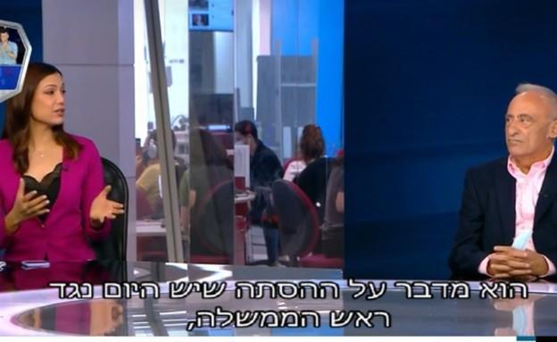 ליטל שמש, פגוש את העיתונות (צילום: מתוך פגוש את העיתונות , חדשות 12)