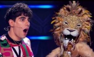 """האריה נחשף ב""""הזמר במסכה"""" ספרד (צילום: מתוך האינסטגרם של Vertele_ Ofical, מתוך אינסטגרם)"""