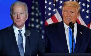 """בחירות בארה""""ב (צילום: AP, ANGELA WEISS/AFP)"""