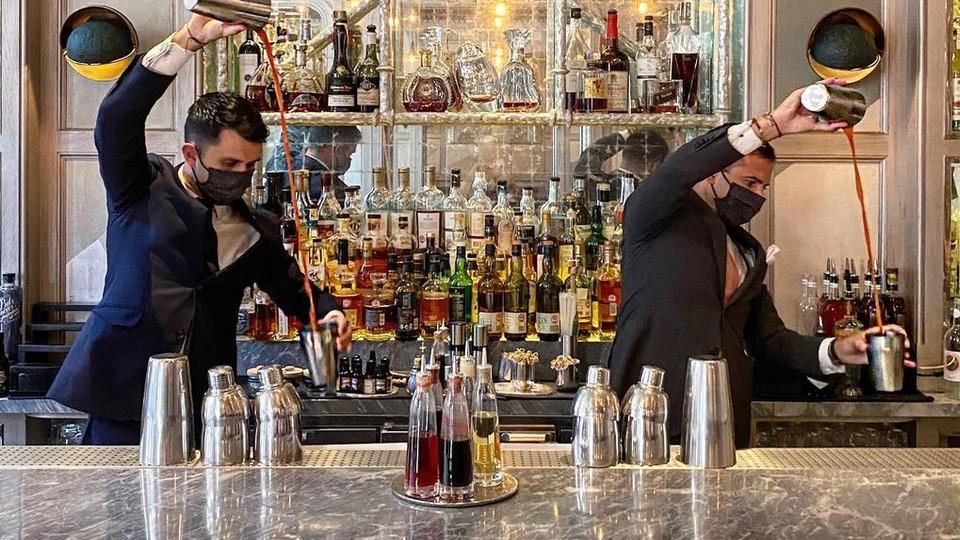 Connaught Bar (צילום: צילום מסך מתום האינסטגרם של Connaught Bar)