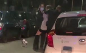 התקרית הלילית של סתיו סטרשקו והמשטרה (צילום: ערב טוב עם גיא פינס, קשת 12)