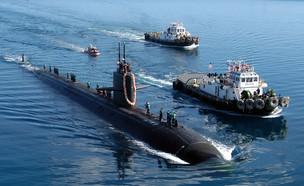 צוללות גרעין אמריקאיות (צילום: U.S. Navy, GettyImages IL)