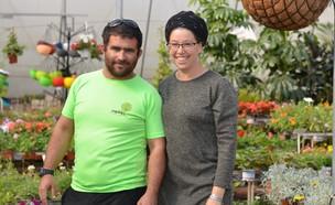 מורדי מרמלשטיין ואשתו (צילום: רננה קפח)