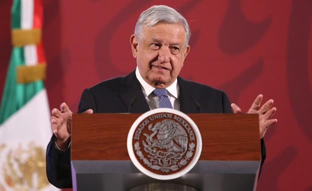 אנדרס מנואל לופז אוברדור, נשיא מקסיקו (צילום: Adrián Monroy/Medios y Media, GettyImages)