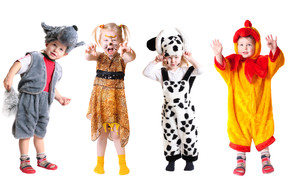 תחפושות ילדים (צילום: shutterstock By Maya Kruchankova)