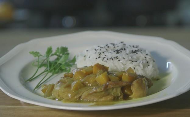 פרגיות ברוטב אסייתי (צילום: אמהות מבשלות ביחד, ערוץ 24 החדש)
