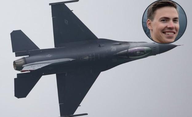 מטוס קרב והטייס  (צילום: Suhaimi Abdullah/USAF, GettyImages)