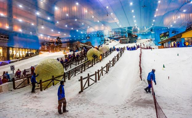 סקי דובאי (צילום: S-F)