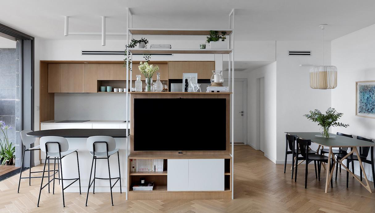 דירה ברמת השרון, עיצוב בלית מזור ויעל דוקטורציק - 2