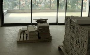 דירה ברמת השרון, עיצוב בלית מזור ויעל דוקטורציק, ג, לפני - 2 (צילום: בלית מזור ויעל דוקטורציק)