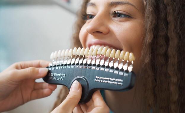 שיניים לבנות המרוץ אחרי החיוך ההוליוודי המושלם (צילום: החדשות 12, החדשות12)