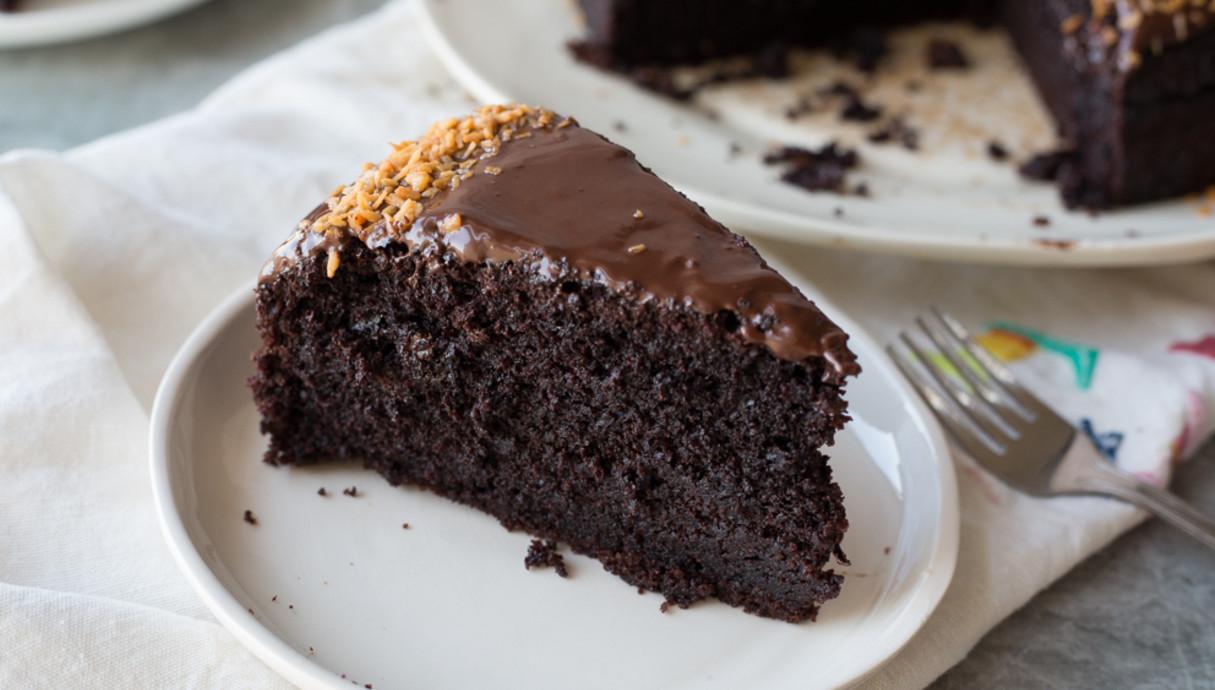 עוגת שוקולד ושמנת חמוצה
