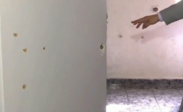 פשיטת כוחות הביטחון על בית שבו חשדו שמסתתר מבוקש