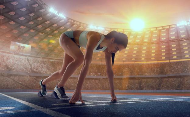 פסיכולוגית ספורט  (צילום:  Artur Didyk |shutterstock)