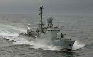 ספינת פטרול מהירה (צילום: MARWAN NAAMANI/AFP, GettyImages)