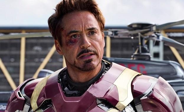 """רוברט דאוני ג'וניור, מתוך """"איירון מן"""" (צילום: Paramount Pictures)"""