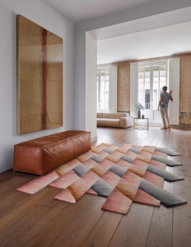 שטיחים 2020, ג, שטיח בעיצוב פטריסיה אורקיולה, הביטאט (צילום: Mirage photo GAN)