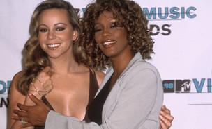 ויטני יוסטון ומריה קארי, MTV VMA's 1998 (צילום: Vinnie Zuffante, GettyImages)