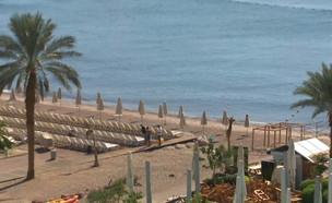 המלונות באילת ובים המלח נפתחים מחדש (צילום: החדשות 12)