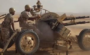 הצעדים הצבאיים (צילום: وزارة الدفاع المصرية, YouTube)