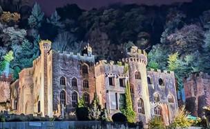 Gwrych Castle)  (צילום: טוויטר, twitter)