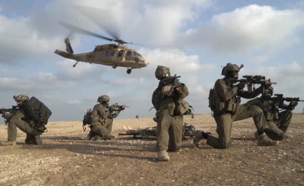"""669, יחידה, חילוץ, צה""""ל (צילום: החדשות12)"""