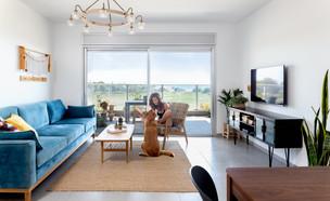 דירה בנהריה, עיצוב שרון בן-משה, לייזה זיו (צילום: נויה שילוני חביב)