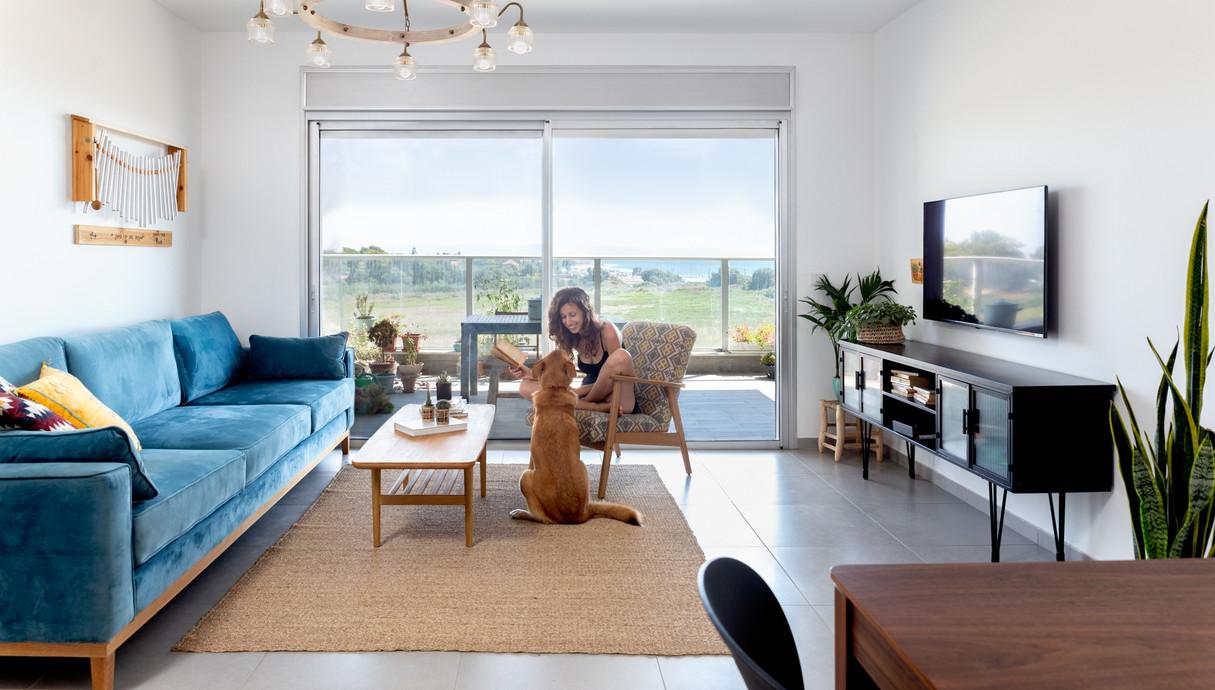 דירה בנהריה, עיצוב שרון בן-משה, לייזה זיו